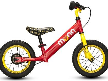 "Muna 12"" Firetruck Balance Bike"